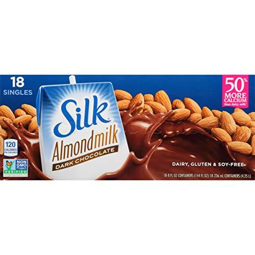 Silk Organic Original Almond Milk, 8 fl OZ (pack of 18)