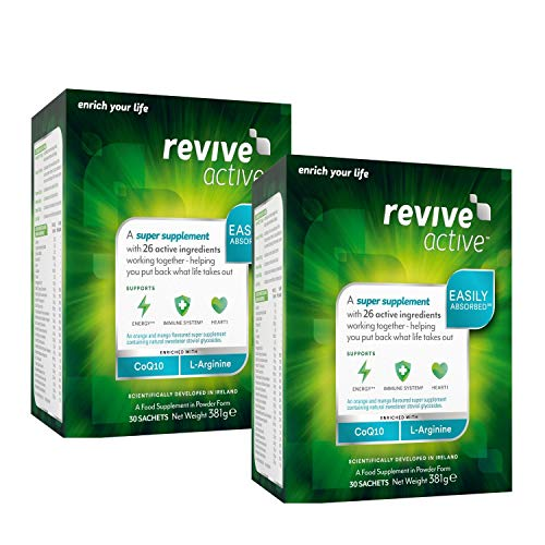 Revive Active Health Food Supplement 2 Months Supply Immunity and Energy Support - 60 Sachets