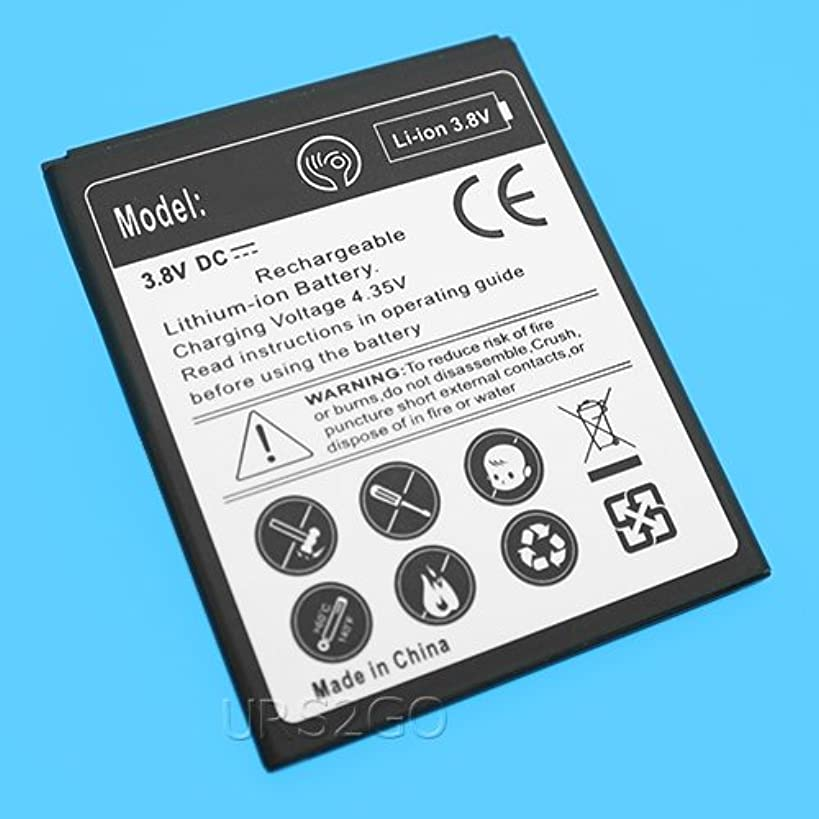 Long Lasting 2400mAh Replacement Extended Slim Battery for Cricket ZTE Fanfare 3 Z852 Smartphone