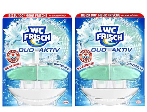 WC Frisch Duo Aktiv Duftspüler Geruchs-Stopp Original, 2er Pack (2 x 1 Stück)