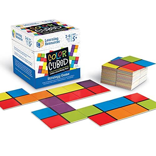 Gioco di strategia con quadrati colorati di Learning Resources