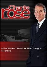 Charlie Rose with  Scott Turow; Robert Downey Jr.; Eddie Izzard (October 23, 2004)