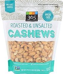 365 Everyday Value, Cashews, Roasted & Unsalted, 24 oz