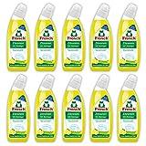 Frosch Zitronen WC Reiniger, 10er Pack (10 x 750 ml) -