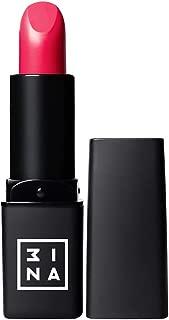 3INA Makeup Cruelty Free Paraben Free Vegan Intense Lipstick 4 ml - 313 Dark Pink