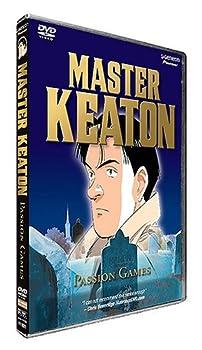 DVD Master Keaton - Passion Games (Vol. 8) Book
