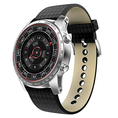Reloj inteligente KW99 para hombre MTK6580 3G, WiFi, GPS, 3G, SIM, TF, Bluetooth, monitoreo de frecuencia cardíaca, teléfono Android PK KW88