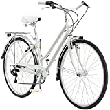 Schwinn Wayfarer Adult Bike Hybrid Retro-Styled Cruiser, 16-Inch/Small Steel Step-Through...