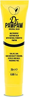 Dr. Paw Paw Original Balm, Multi-Purpose No Fragrance Balm, For Lips, Skin, Hair and Beauty Finishing, Cuticles and Nails 25 milliliter