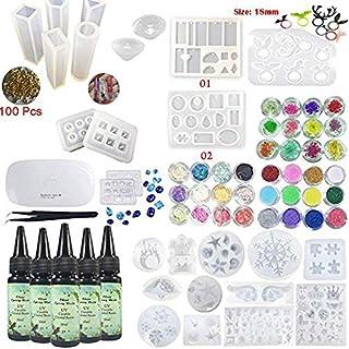 Stampo Silicone per Resina epossidica Stampi per Gioielli Artigianato Decorazione Creazione iSuperb 12 costellazioni Stampi per Resina 6 Pack