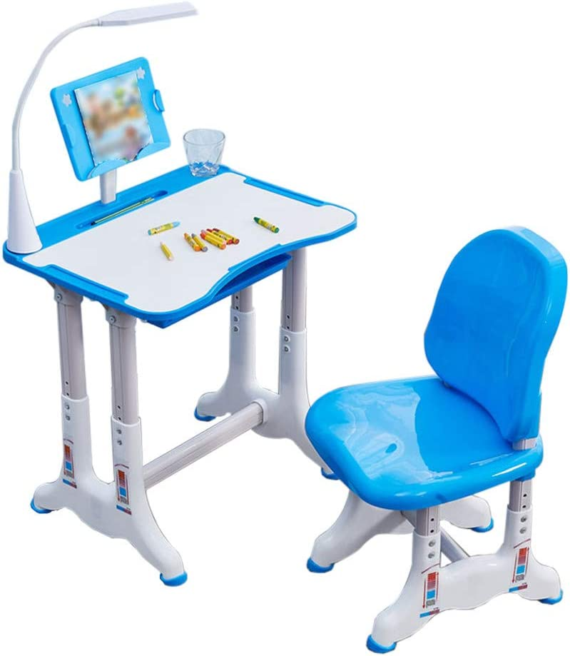 PUTEARDAT Children Desk Chair Set Kids Denver Mall Height Study trend rank - Adjustable