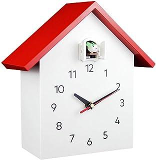 Wall Clock Non-Ticking Wall Clock الصلبة الخشب الوقواق على مدار الساعة كتم أكل الذكي ساعة ساعة الحديثة الحد الأدنى الإبداع...
