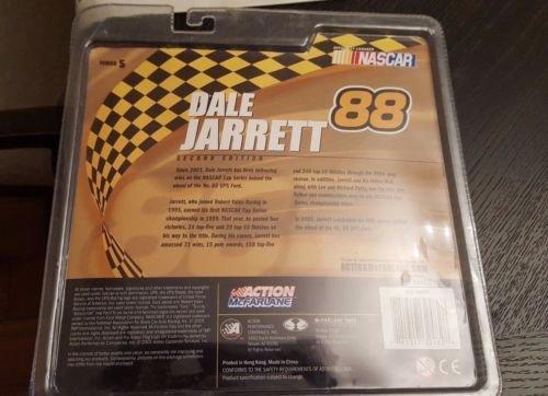 Dale Jarrett #88 UPS White Uniform No Sunglasses McFarlane NASCAR Series 5 Action Figure