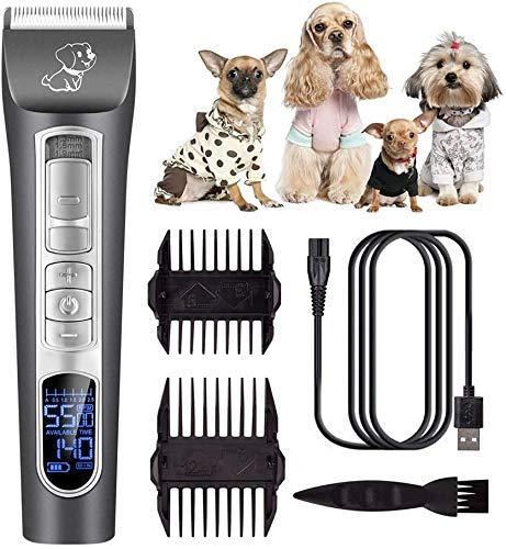Tijeras de corte del pelo de Herramientas Herramientas Pet Hair Clipper Clipper Clipper pelo pelo de perro de la máquina de afeitar de las podadoras de pelo del gato de peluche de afeitar de belleza f