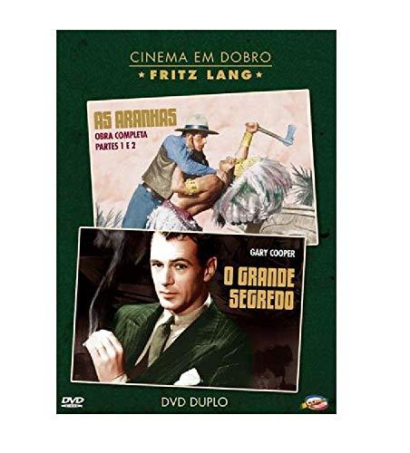 Dvd Cinema Em Dobro - Fritz Lang - As Aranhas + O Grande Segredo