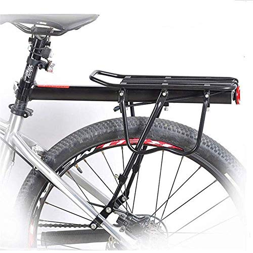 Great Price! TAIYH Bicycle Rear Seat Frame (115 LB Load) Adjustable Alloy Bicycle Carrier Luggage Lo...