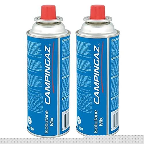 Campingaz Ventil-Gaskartusche CP 250 - Isobutane Mix (2er Pack)