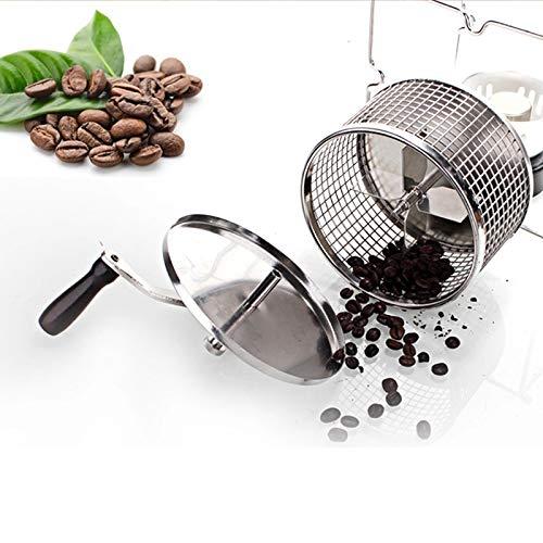 Handle koffieboon gebakken machine bonen roosteren machine handleiding bonen koffiebrander mini bakken maker DIY kleine roestvrij stalen rollen