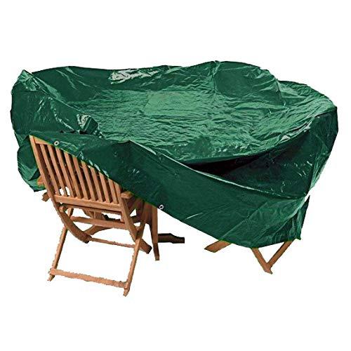Tooltime UK My Garden Medium Oval Waterproof Garden Patio Table Chair Set Furniture Cover