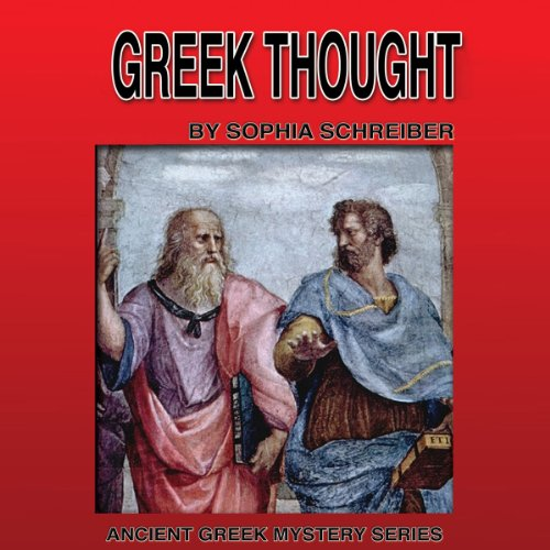 Greek Thought (Ancient Greek Mysteries) audiobook cover art
