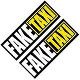 Aufkleber/Sticker - Fake Taxi (Sticker-Set 2 Stück)