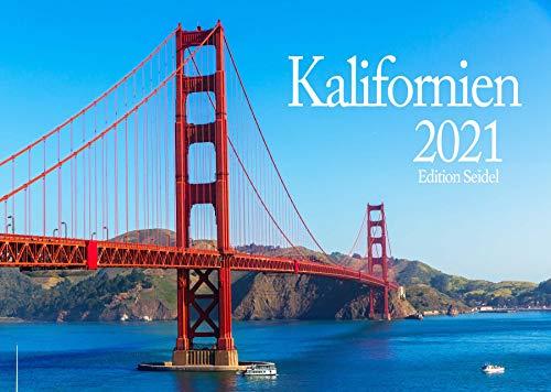 Edition Seidel Kalifornien Premium Kalender 2021 DIN A3 Wandkalender Amerika USA