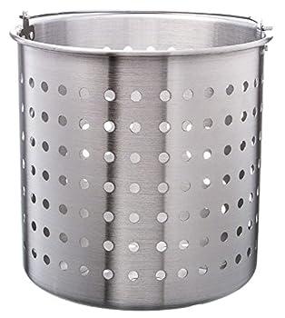 Update International 40 Qt Aluminum Steamer Basket