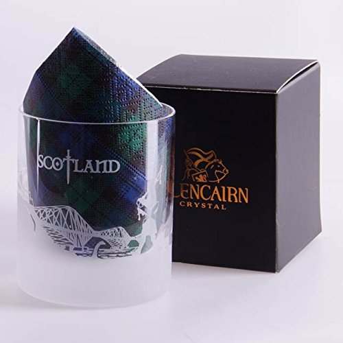 Glencairn Schottland Skyline Kristallglas und Präsentationsbox, 17 cl