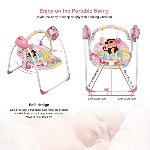 511EcbMe9WL Best Soothing Baby Swing for Baby That Likes to Be Held 2021