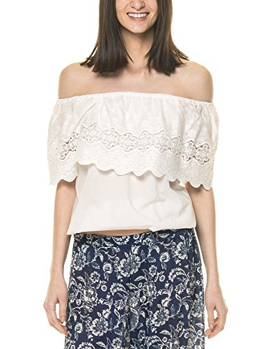 OEUVRE FASHION Women's Off-The-Shoulder Top