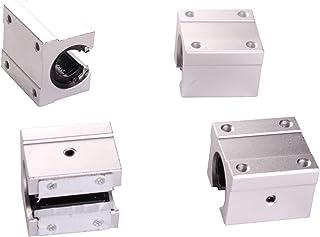 DZF697 4PCS SBR10UU SBR12UUU SBR16UU SBR20UU SBR25UU 12MM 16mm 20mm 20mm Boule à Billes linéaires pour Le routeur CNC Rout...