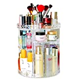 Makeup Organizer for Bathroom Bedroom 360 Rotating Acrylic Cosmetic Storage...
