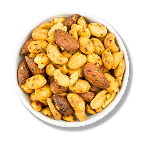 1001 Frucht Oriental Chili Mix 1000 g I Scharfe Nussmischung mit Cashewkernen Mandeln und Erdnüssen I Nüsse mit einzigartger Gewürzmischung I Nuss Mix ohne Konservierungsstoffe I Vegan I 1 kg