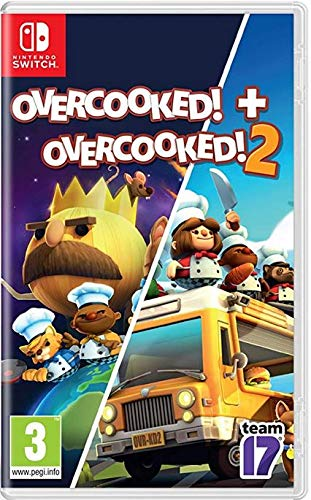 Overcooked 1 - Special Edition + Overcooked 2 - Double Pack NSW