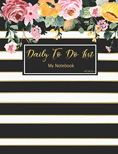 Daily To Do List Notebook: Daily Work Task Checklist | Daily Task Planner | Checklist Planner School Home Office Time Management | Checkboxes | ... (To Do List Prioritize Task Notebook, Band 3)