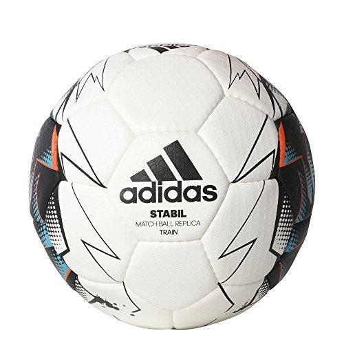adidas Stabil Train 9 Handball 2017 (Größe: 3 (Herren), white/black/energy blue s17/energy s17)