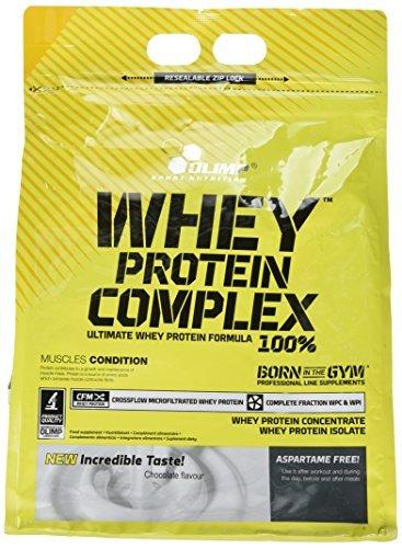 Olimp Whey Protein Complex 100% - Geschmack Schokolade, 1er Pack (1 x 2.27 kg)