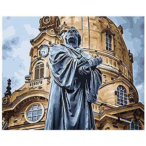 wtnhz Kein Rahmen Strindberg von Cooper Canvas Boards für quadratische Landschaft d Ölbilder von On Canvas Home Decoration 30x40cm