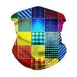 FORLADY Unisex Multifunzione Passamontagna Bandana Maschera Traspirante Protezione Solare UV Sci Moto (a01)
