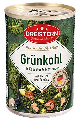 Dreistern Grünkohl mit Kasseler und Mettenden, 400 g
