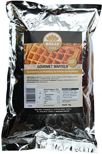 Backmischung Gourmet Waffeln 1 kg Beutel