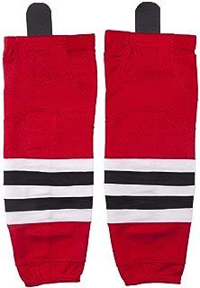 Hockey Socks(2Pack), EALER Mens & Boys Striped Color Dry Fit Mesh Practice Ice Hockey Sock.