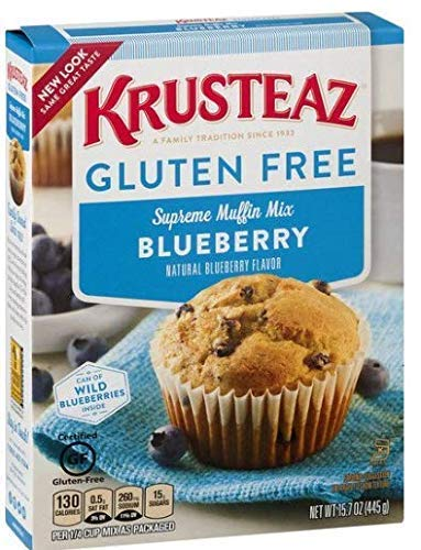Gluten Free, Krusteaz, Blueberry Muffin Mix (Pack of 2)