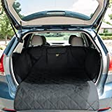 xc60 cargo cover - FrontPet Quilted Dog Cargo Cover for SUV, Universal Fit for Any Animal, Durable Liner Covers to Protect Your Vehicle, Black