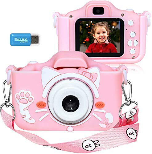 Wurkkos Kids Digital Camera,12.0 Megapixel Kamera mit Einer kindgerechten