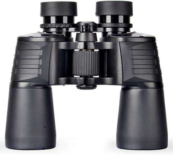 WWWWW Jumelles 10X50 D'extérieur HD à Compression Anti-Goutte Et Miroir en Métal Durable, Claires Et Lumineuses télescope