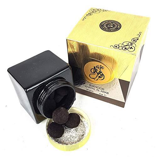 My Perfumes Bakhoor Khayal al Arab - 80 gramos de incienso auténtico ámbar y aroma a almizclado