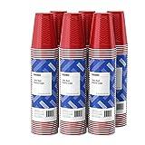 Amazon Brand - Solimo 18oz Disposable Plastic Cups