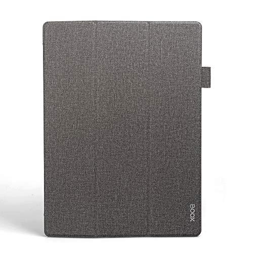 """Custodia per e-reader, custodia pieghevole in pelle PU da 13,3""""Custodia pieghevole leggera Custodia protettiva per tablet Android BOOX Max3 (grigio)"""
