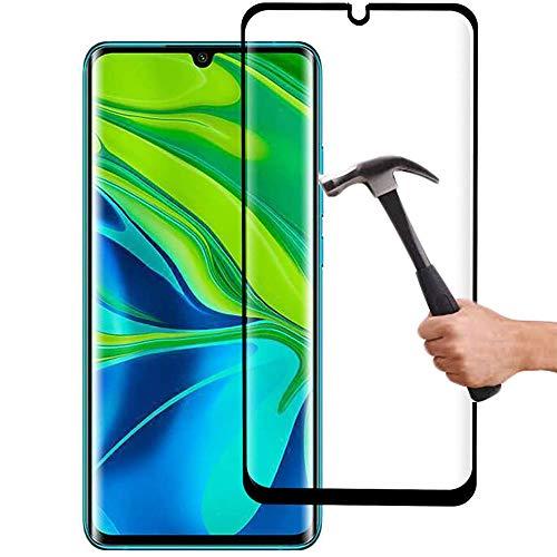 Lapinette Vetro Temperato Compatibile con Xiaomi Mi Note 10-2 Pezzi - Pellicola Protettiva Vetro Temperato - Protezione Vetro Temperato - 9H Force Glass - Protezione Schermo Ultra Resistente